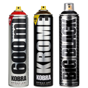Spray Kobra Plata