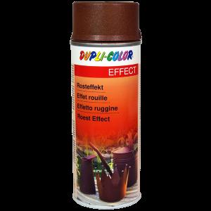 pintura spray efecto oxido